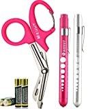 Best Bandage Scissors - MEUUT 3 Pack Pen Light & Medical Shears-Two Review