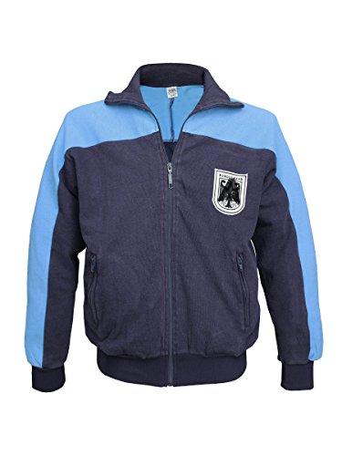 Militär b Bundeswehr Trainingsjacke blau gebraucht Größe 50