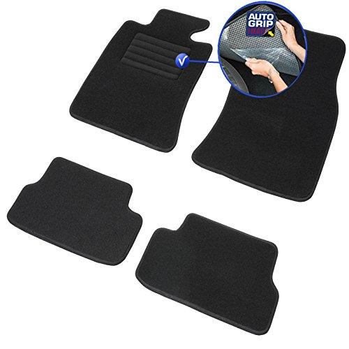 DBS Tapis de Voiture - sur Mesure pour Mini One et Mini Cooper R56 (2006-2013) - 3 pièces - Tapis de Sol antidérapant pour Automobile - Moquette Classic