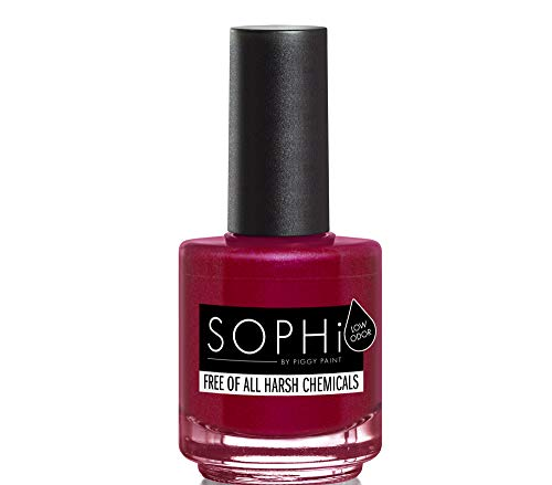 SOPHi Nail Polish, Out of the Cellar, Non Toxic, Safe, Free of All Harsh Chemicals - 0.5 Fluid Ounce