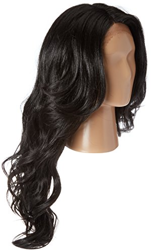 Freetress Equal Brazilian Natural Deep Invisible L Part Lace Front Wig