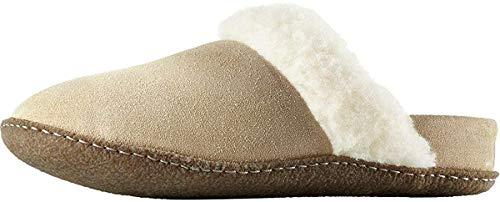Sorel Damen Nakiska Slide II Pantoffeln| Britische Tanne Natur| 43 EU | Schuhe > Hausschuhe > Pantoffeln | Sorel