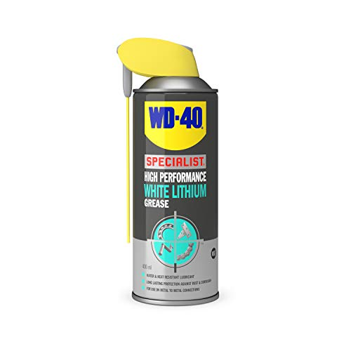 WD-40 Specialist White Lithium Grease Smart Straw 400ml