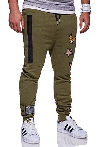 MT Styles Trainingshose Hose Sporthose R-784 [Khaki, L]