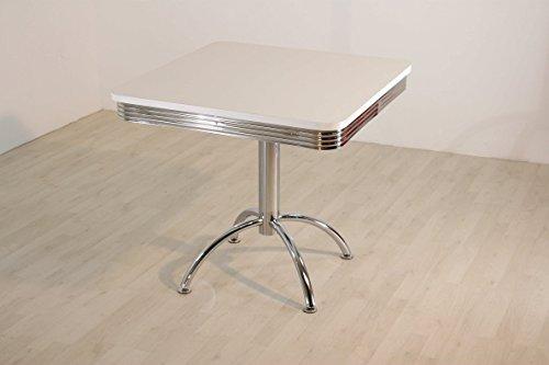 """Bistrotisch \""""King 5\"""" Retro American 50s Dinertisch Tisch"""