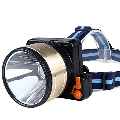 Les phares Rechargeables Submersibles de Haute Puissance, la Lampe extérieure à Longue portée de Mineur de LED, l'alpinisme de Camping Peut Plonger