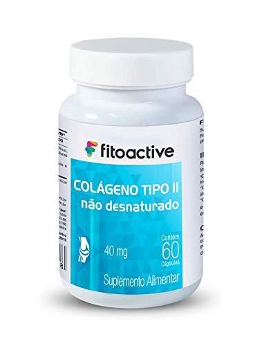 Colágeno Tipo II 40 mg 60 Cápsulas Fitoactive
