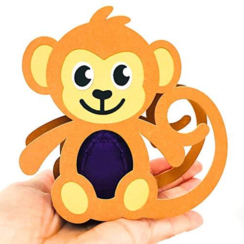 Easter Monkey Box Stanzschablonen Ostern Metall Prägeschablonen Stanzformen Cutting Dies Für DIY Scrapbooking Karten Handwerk Geschenk