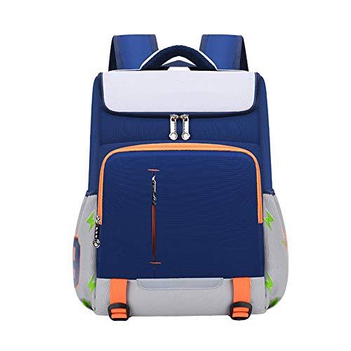 BCXS Schulrucksack für Teenager-Mädchen, süße Büchertasche Schultasche mit Sicherheitsnachtreflektierendes Klebeband wasserdichte Leistung und Verschleißfestigkeit,Weiß,Big