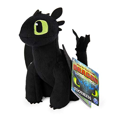Dreamworks Dragons, Toothless 8' Premium Plush Dragon, for Kids Aged 4 & Up