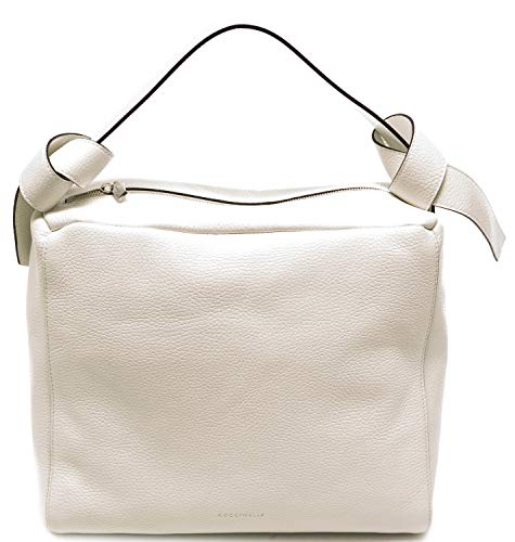 Coccinelle Bolso mujer olympia grained leather Color blanco. Talla única