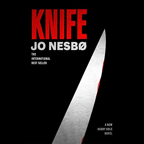 Knife audiobook cover art