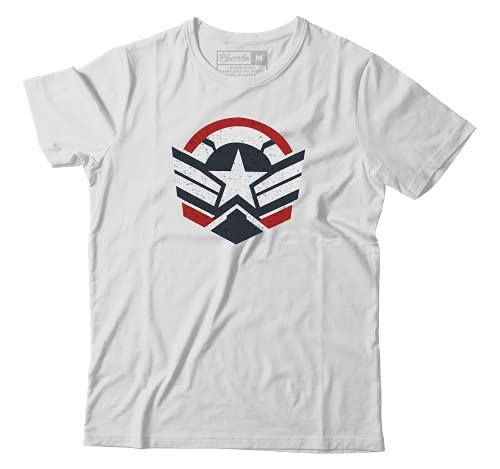 Camiseta Falcão E Soldado Invernal Capitão América Marvel Camisa Unissex #2 (GG)