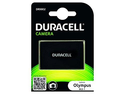 Duracell DR9902 - Batería para cámara Digital 7.4 V, 1050 mAh (reemplaza batería Original de Olympus BLS-1)