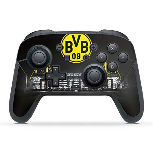 DeinDesign Skin kompatibel mit Nintendo Switch Pro Controller Folie Sticker BVB Stadion Borussia Dortmund