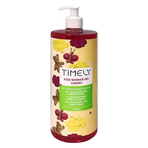 Timely Feuchtigkeitsspendendes Duschgel für Kinder mit Kirschduft