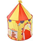 Spielzelt Schloss Spielhaus Zirkus Burg Kinder Raum Pop Up Spielhaus Spielzeug Zelt Faltbare...