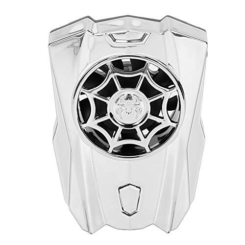 Enfriador de teléfono móvil, portátil Disipador de calor para teléfono móvil Almohadilla de enfriamiento de ABS Ventilador de 8 aspas Ventosa del radiador con batería de larga duración para juegos de