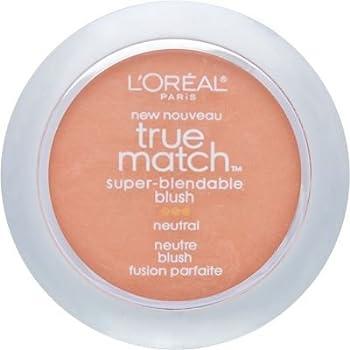 L'Oreal Paris True Match Super-Blendable Blush, Apricot Kiss, 0.21 oz.