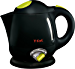 T-fal 7211002159 BF6138 Balanced Living 4-Cup 1750-Watt Electric Kettle with Variable Temperature and Auto Shut Off, 1-Liter, Black (Renewed)