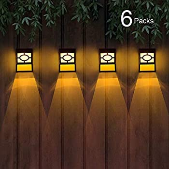 6-Pack Gymaoyi Solar Deck Lights with 2 Modes