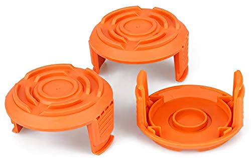 YWTESCH Trimmer Replacement Spool Cap Covers for Worx (3 Pack)
