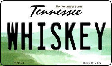 Koopje Wereld Whiskey Tennessee Staat License Plaat Magneet (Met Sticky Notes)
