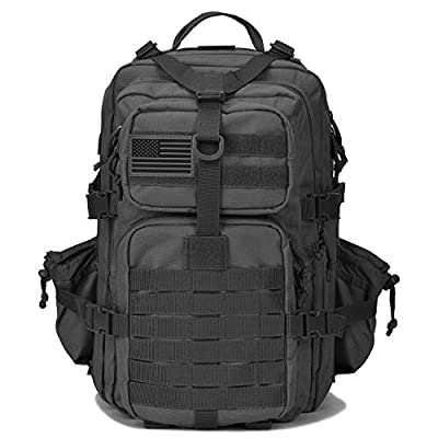 REEBOW TACTICAL Military Backpack 3 Day Assault Pack Army Molle Bag Backpacks
