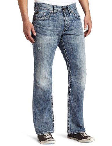 Silver Jeans Men's Zac Relaxed-Fit Jean