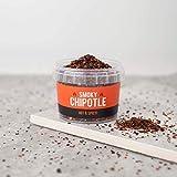 Spicentice Smoky Chipotle Chile Copos de Chili sin gluten, sin gluten, 100% Chile chipotle puro, sin gluten, azúcar y sal, mezcla de Reino Unido