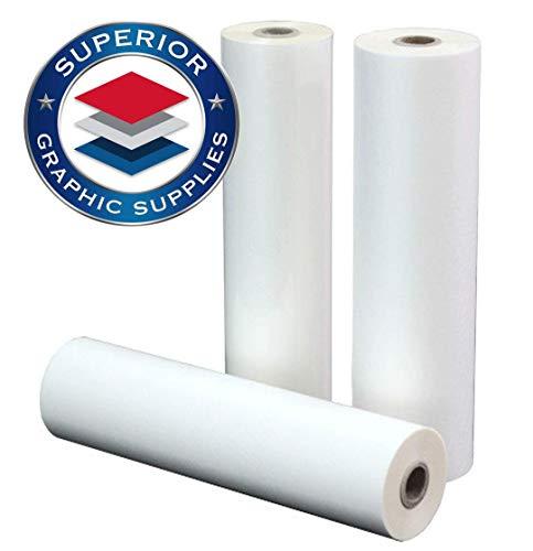 "Superior Graphic Supplies PET Laminating Film Roll Premium Quality - 5 Mil / 0.005"" Thick 25"" x 200'"