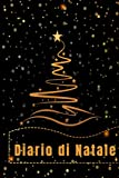 Blocco per appunti a righe con albero di Natale stilizzato: 109 pagine in carta premium