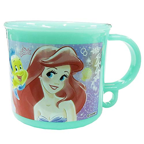 Disney ディズニー アリエル 食洗機対応 プラスチック コップ 200ml-A柄