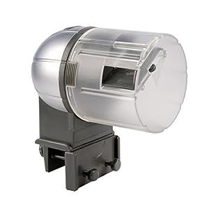 Fisch-Futterautomat-Automatisierte-Futterspender-fur-Aquarium-Tank-Automatische-Fischfutterautomat-Fttern-Futter-Verteiler-Fisch-Helfer-Auto-Feeder-Maschine-mit-fr-2-Futter-Box-50g-und-100g
