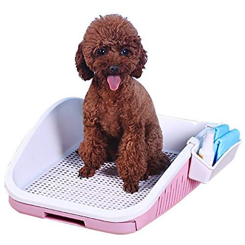 DDDMMM Junta de Inodoro para Entrenamiento de Cachorros a Prueba de Salpicaduras para Mascotas(42x34x12cm),3-Colores