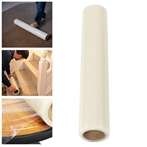 60cm * 100m Heavy Duty Teppich Schutzfolie Folie, selbstklebend, Boden Treppen Schutz