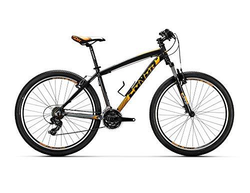 "Conor 5400 27,5"" Bicicleta, Adultos Unisex, Negro/Naranja (Multicolor), L"