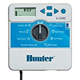 Hunter Sprinkler XC400I X-Core 4-Station Indoor Irrigation Controller, Small, Gray