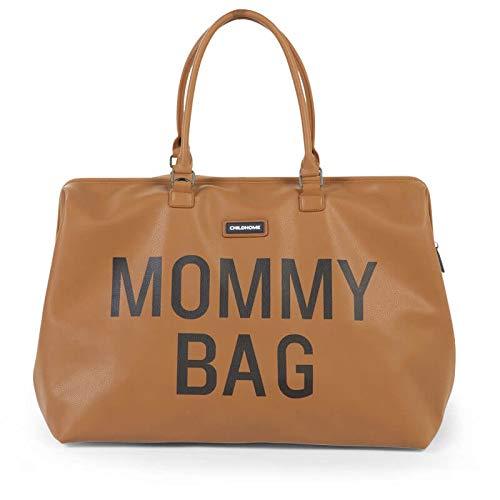 55 x 30 x 30 cm tapis /à langer inclus Childhome grand sac /à langer MOMMY BAG en canvas balnc avec des rayures rouges-vertes