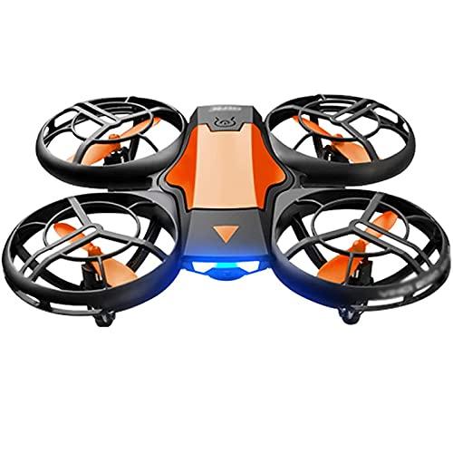 SCYMYBH Scoot Hand Opere Drone para niños o Adultos - Fotografía aérea HD Sensor de Aviones de Control Remoto de Aviones (Color : Orange)