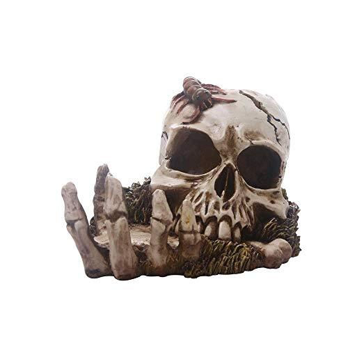 Creativos de la Personalidad Humana cráneo decoración, Resina realistas simulados cráneos del Arte Modelo Adornos for la Barra casera Ciencia Juguetes educativos, Crear una atmósfera WTZ012