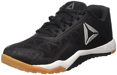 Reebok Damen ROS Workout TR 2.0 Schuhe Indoor-Multisport, Schwarz (Black/RBK Rubber Gum/White/Pure Silver), 40 EU