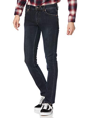 11. Volcom Men's Vorta Slim-Fit Stretch Denim Jeans