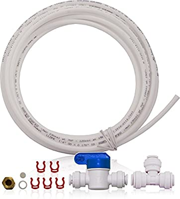 APEC Water Systems Ice Maker Kit for Reverse Osmosis System Refrigerator & Water Filters