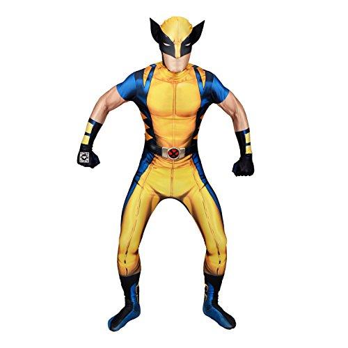 Morphsuits - Disfraz Wolverine, Multicolor (delux digital), talla XL (176cm-185cm) , color/modelo surtido