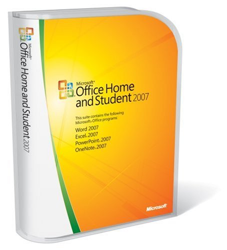 Microsoft Office Home and Student 2007 englisch
