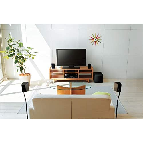 Yamaha YHT-4950 EU Home Cinema Set - Ricevitore di rete Music Cast Surround Sound combinato con 5.1 Speaker Pack NS-P41 - per il perfetto Home Theatre intrattenimento Nero