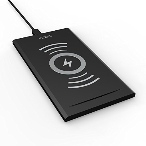 Caricabatterie Wireless, Vinsic Qi caricabatterie...