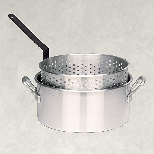 %5 OFF! Bayou Classic 4010 10-qt Aluminum Fry Pot, Silver