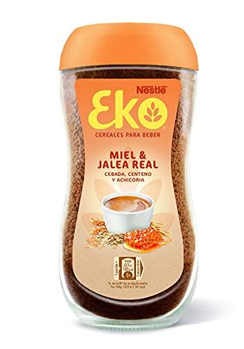 EKO MIEL Y JALEA REAL, cereales para beber, frasco de